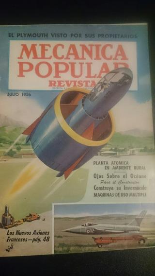 Revista Antigua Mecánica Popular Julio 1956