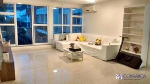 Imagem 1 de 30 de Cobertura Com 3 Dormitórios À Venda, 162 M² Por R$ 780.000,00 - Campo Grande - Rio De Janeiro/rj - Co0037