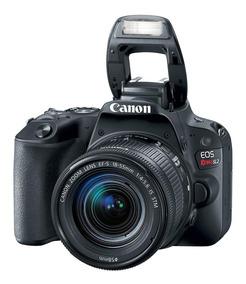 Câmera Canon Eos Rebel Sl2 Ef-s 18-55mm Is Stm + Cartão 16gb