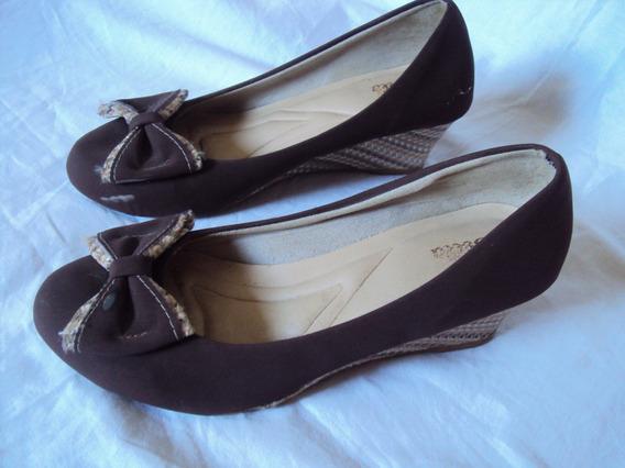 Sapato Feminino Bella Marrom Escuro Tamanho 35