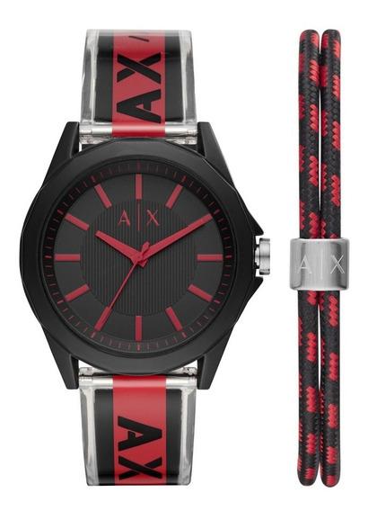 Relógio Armani Exchange Drexler Masculino Preto Ax7113/k8pn