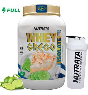 Whey Grego Isolate - 900g - Nutrata Pronta Entrega