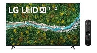 Imagem 1 de 7 de Smart Tv LG 55'' 4k Uhd 55up7750 Al Thinq Smart Magic