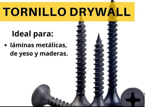 Tornillo Drywall   8 X 1 (caja De 500und)
