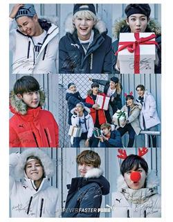 Lindo Poster Bts Kpop Propaganda A3 42x29cm Plastificado
