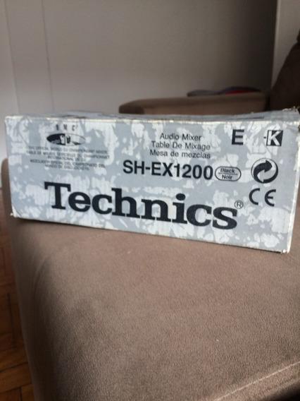 Mixer Technics Sh-ex 1200 Dmc Classic 220v