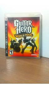 Guitar Hero World Tour Ps3 Usado
