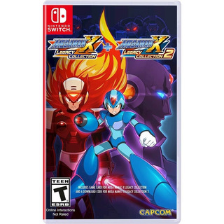 Megaman X Mega Man X Legacy Collection 1 + 2 Nintendo Switch