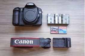 Canon Eos 40d + 12x Sigma 18-55 Nao É T6 T5 T6i T5i 7d 60d