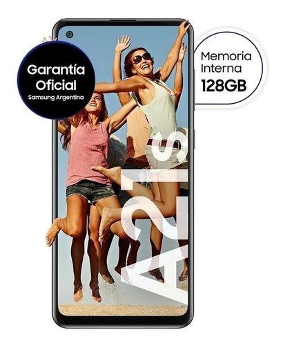 Celular Samsung Galaxy A21s Negro 128/4gb  2021 Nuevo Gtia