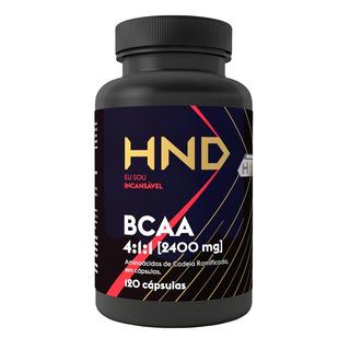 Suplemento Bcaa Original Hinode 120 Cápsulas Vit B6 (17502)