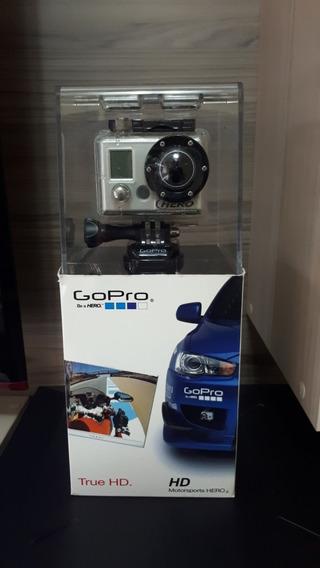 Câmera Gopro Hero 1 Motorsport Com Tela Lcd