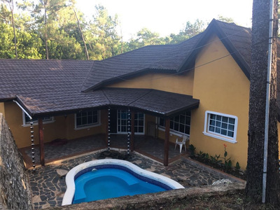 Casa De 3 Habitaciones En Jarabacoa Amueblada En Alquiler