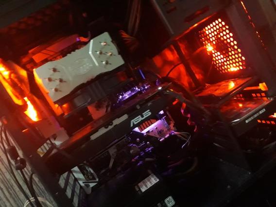 Pc Gamer / Ryzen 5 1600x+ Killer Sl 8gb Ram/ Rx 580 4gb Asus