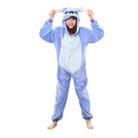 Pijama Lilo Y Stitch Disfraz Kigurumi Entero Polar Kawaii