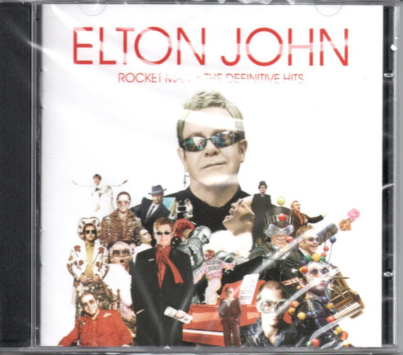 Cd Elton John - Rocket Man The Definitive Hits