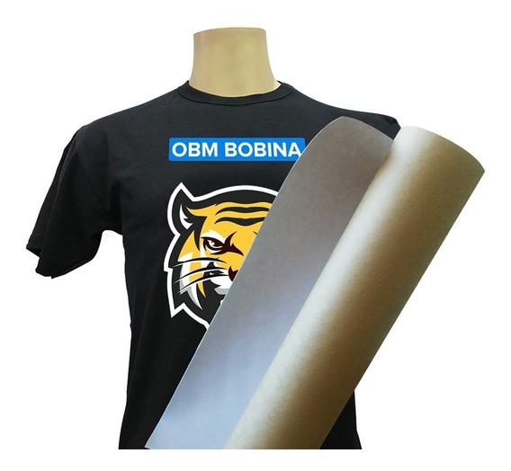 Bobina Obm Power Film Impressão Direta Tecido Escuro 0,50x5m