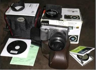 Câmera Sony Nex F3 - Completa! 100% Funcionando
