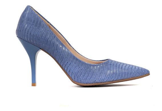 Zapatos Stiletto Taco Fino Mujer Hilaria/ls Cuero Ecologico