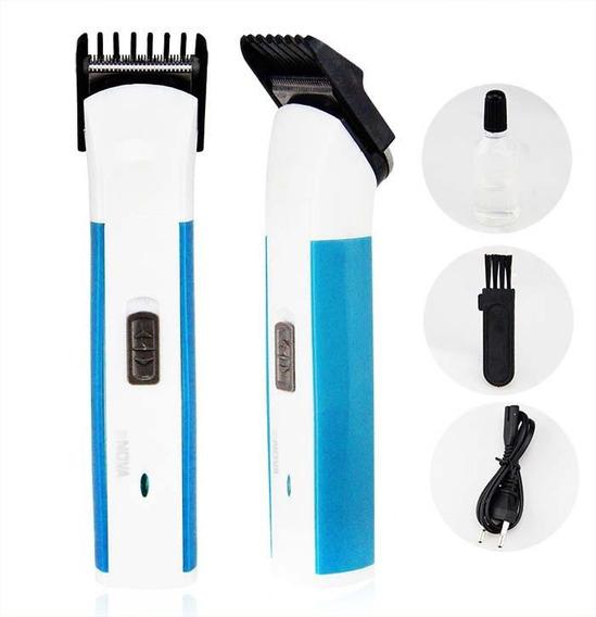 Máquina De Cortar Cabelos Aparador Pelos/barba Li +pro