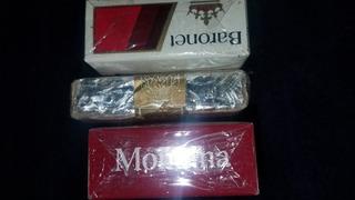 Cajetillas De Cigarros,montana,delicados,baronet.