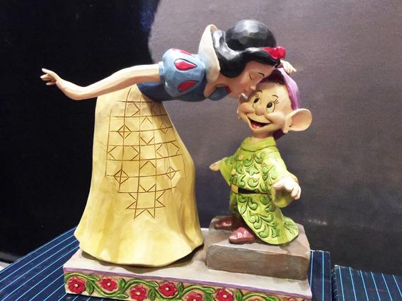 Escultura Jim Shore Disney Branca De Neve Dunga