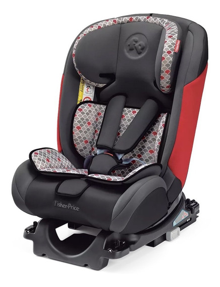 Cadeirinha Carro Fisher Price All Stages Isofix Bb560 Red