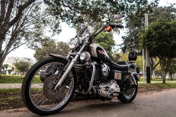 Gran Oportunidad #1: Hermosa Harley Davidson Sporter En Su M
