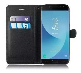 Funda Samsung J4 J8 J6 Plus A10 M10 A20 A30 A50 Eco Cuero