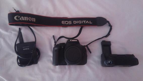 Camera Fotográfica Canon Eos Rebel T3i 600d (corpo)