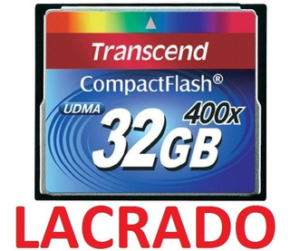 Compact Flash Cf 32gb Transcend Premium 400x Udma7 Full Hd