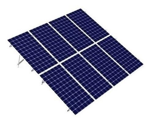 Imagen 1 de 2 de Base Vertical Para 8 Paneles Solares 72 Celdas A 20 Grados