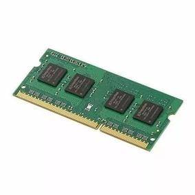 Memória Ram Ddr3 Notebook (2x2) 4gb