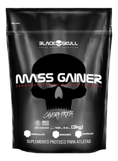 Hipercalórico Massa Mass Gainer 3kg - Black Skull