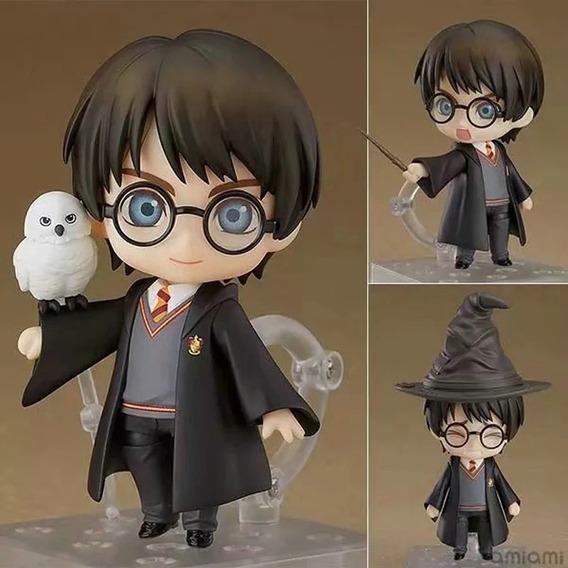 Figura De Ação Harry Potter Com Varios Acessórios