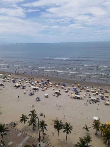 Imagem 1 de 12 de Maravilhoso Apartamento Praia Grande Cidade Ocian Sp