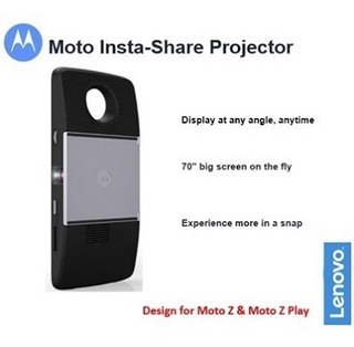 Moto Snep Chat Projector, Linha Moto Z2 Play