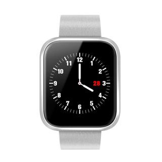 Smatrwatch P70 Pro Plateado Para iPhone Y Android