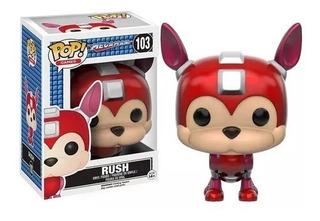 Funko Pop Megaman Rush 103 Fnkpop Z