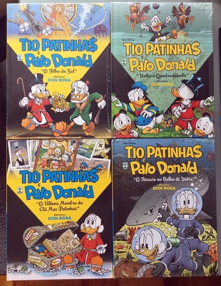 Lote 4 Encadernados Disney: Biblioteca Don Rosa (lacrados)
