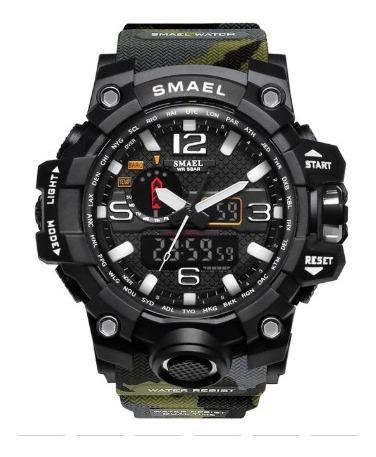 Relógio Masculino Militar Shock Esportivo Smael 1545/2