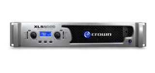 Potencia Crown Xls 2000 Sonido Profesional 375rms Cuotas