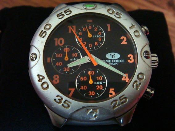Reloj Time Force Chronometer Mod. 9346 Acero-aluminio.