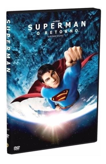 Dvd Superman O Retorno - Bryan Singer - Lacrado