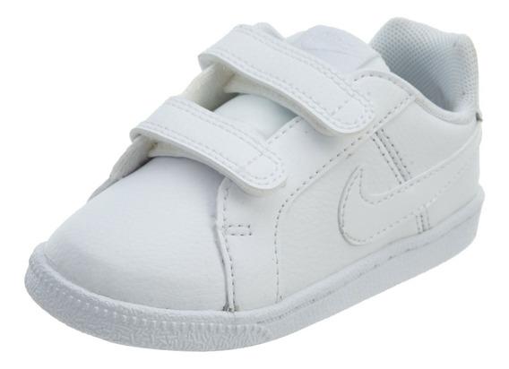 Tenis Nike Court Royale   Bebe   Blanco Original 833537-102
