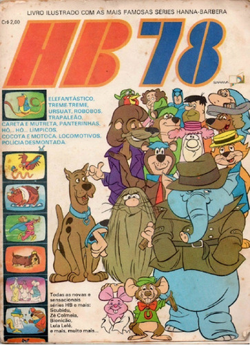 3 Álbuns Digitalizados Hanna Barbera (pdf)