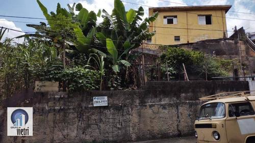Terreno À Venda, 446 M² Por R$ 600.000,00 - Jardim Cidade Pirituba - São Paulo/sp - Te0667