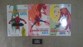 Gibis Revistas Homem-aranha Azul 3 Volumes