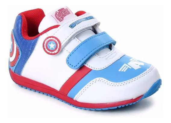 Zapatillas Originales Marvel Capitan America The Avenger Fty
