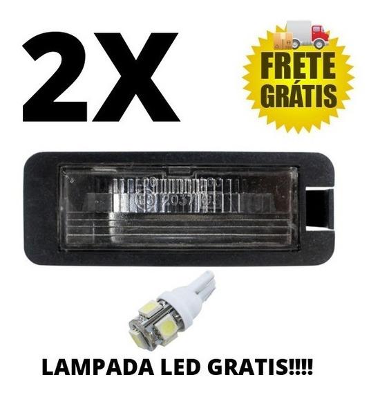 2 Lanternas Luz De Placa Para Gol Parati G3 G4 Fox,polo Golf